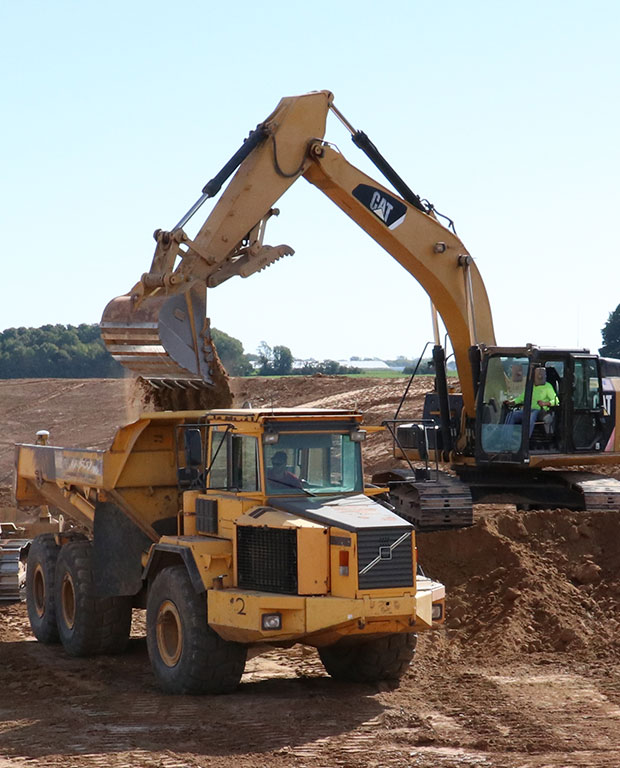 Large Scale Excavation Services
